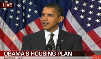 Obama Mortgage Plan